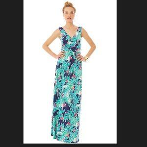 Lilly Pulitzer-  Sloan's v-neck maxi dress